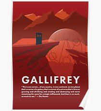 Gallifrey Poster Poster