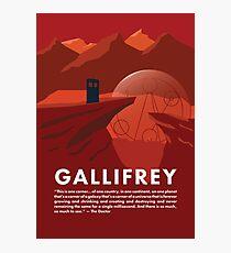 Gallifrey Poster Photographic Print