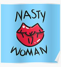 Böse Frau Poster