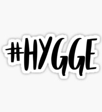 #hygge Sticker