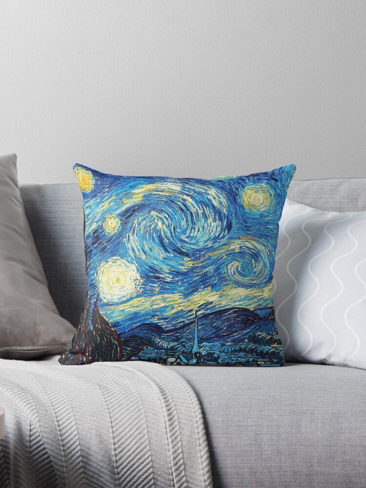 Starry Night Vincent Van Gogh Oil Painting by DEERMAN12