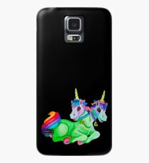 Two-Headed Unicorn Case/Skin for Samsung Galaxy