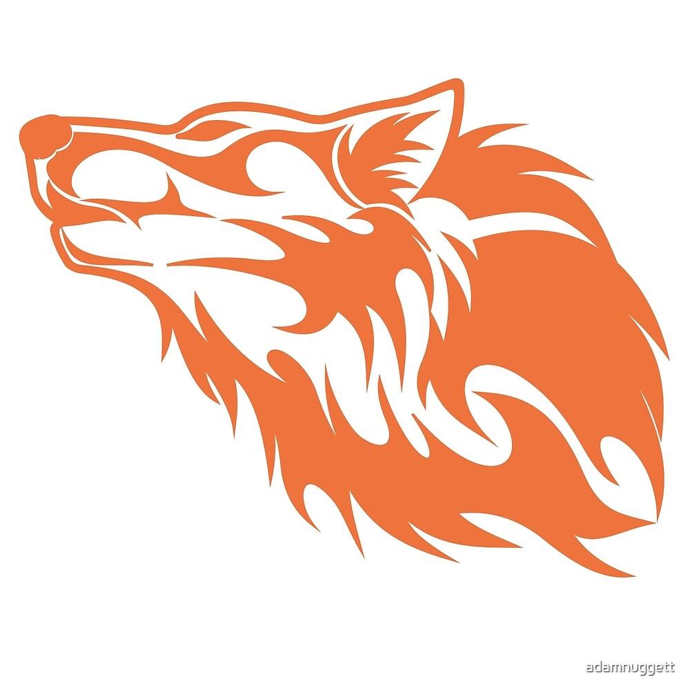 Wolf Orange by adamnuggett
