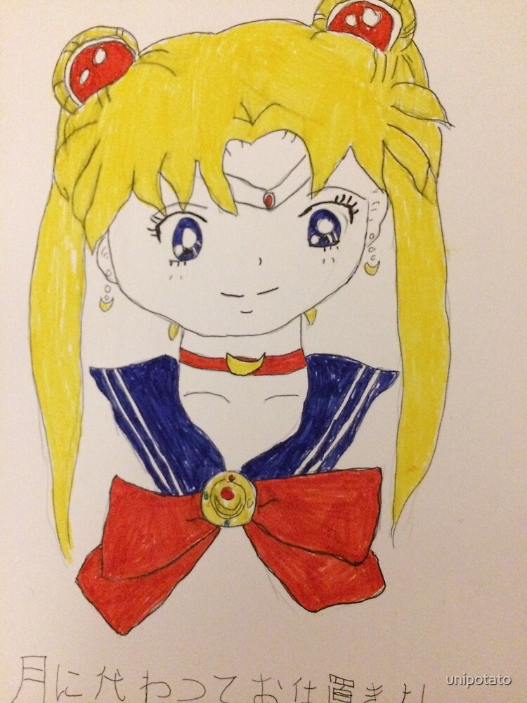 Sailor Moon by unipotato