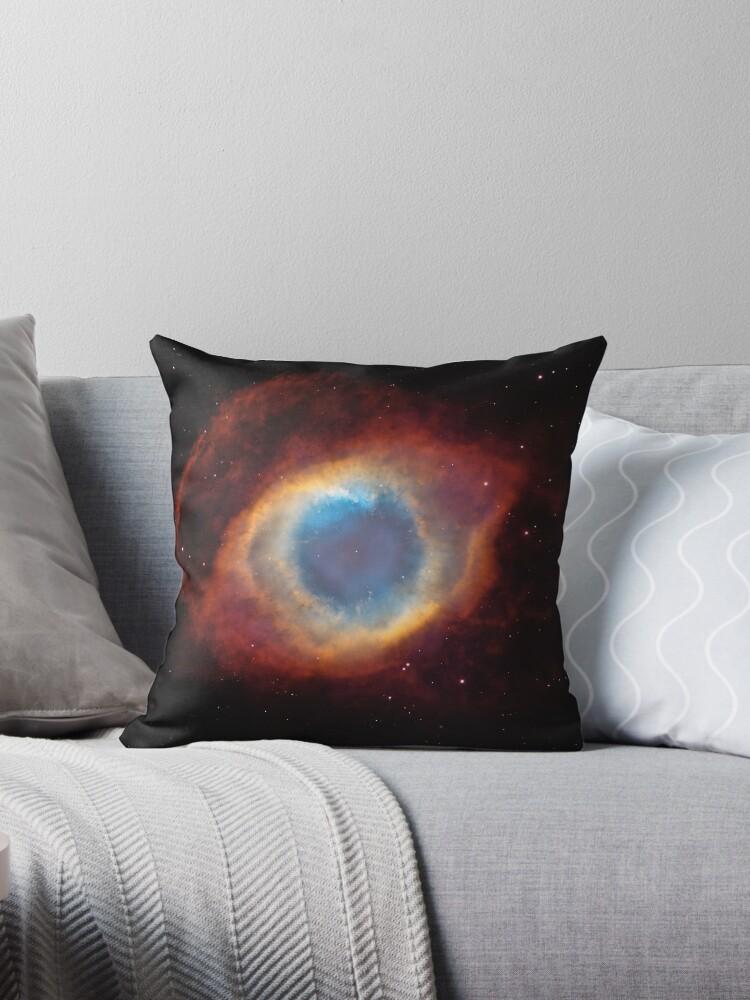 Helix Nebula Eye Look Galaxy Universe Space Yellow by DEERMAN12
