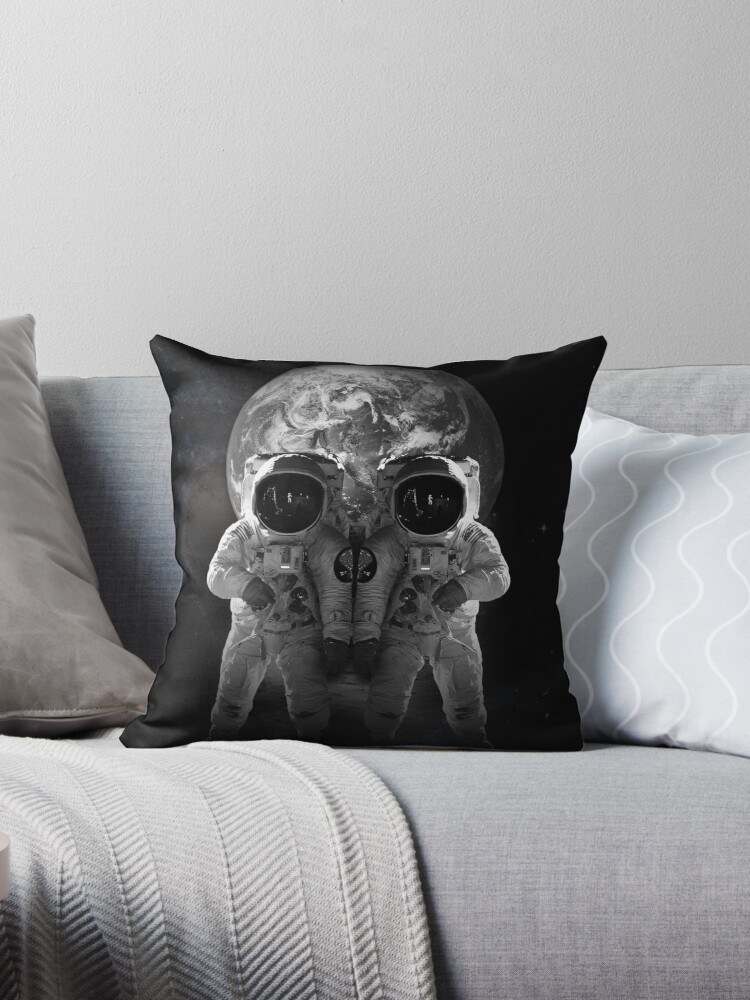 Skull Look The Earth Astronaut Fantasy by DEERMAN12