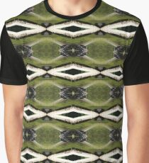 find the frogs, Trojan pond, near Goble, Oregon pattern Graphic T-Shirt