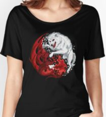 Dragon and Wolf Women's Relaxed Fit T-Shirt