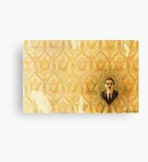 Madman in the Wallpaper Canvas Print