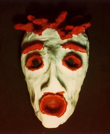 FEAR Mask © at Seventeen by Vicki Ferrari
