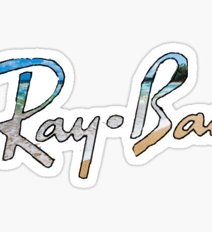 Ray Ban Sticker