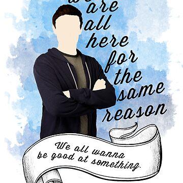 Finn Hudson Glee by JasperSteel