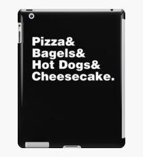 New York Foods Helvetica iPad Case/Skin