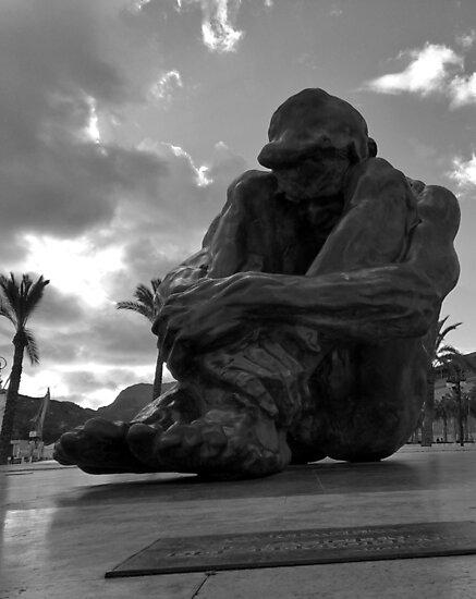 El Zulo Sculpture | Cartagena Spain by agentgreen