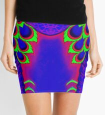 Purple Mantis Shrimp Mini Skirt