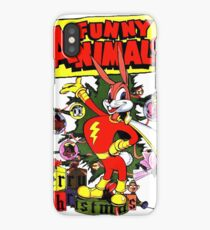RETRO Funny Animals Bunny Vintage iPhone Case/Skin