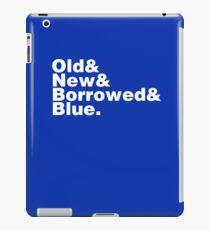 Bridal Helvetica iPad Case/Skin