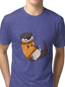 Otterly Adorable Tri-blend T-Shirt