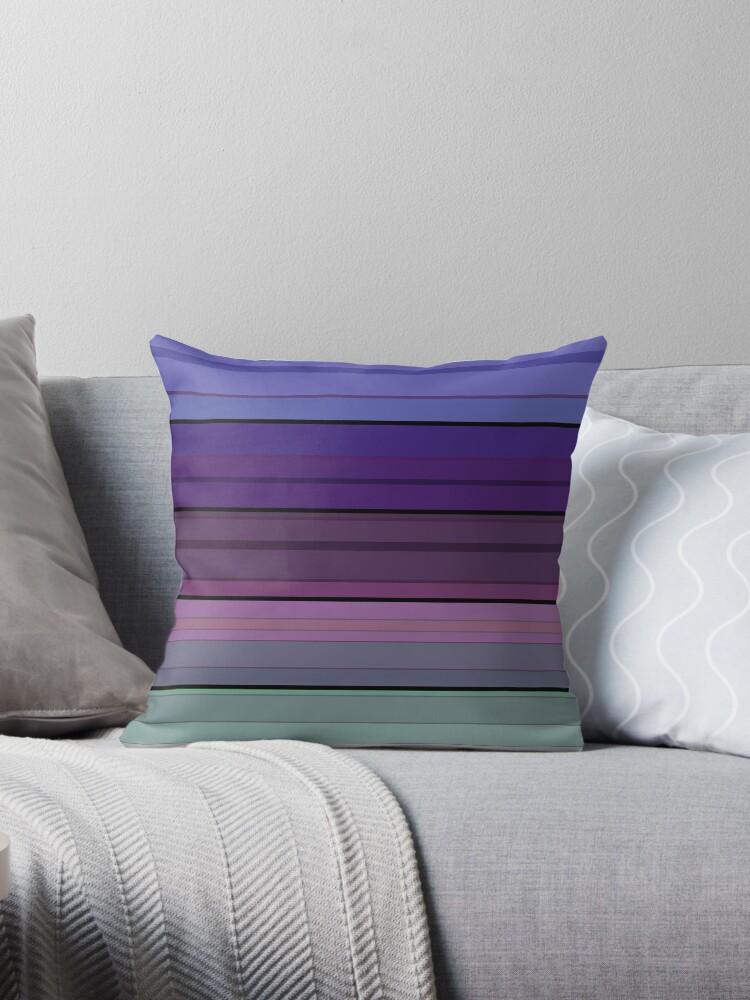 Black blue purple pattern striped .  by fuzzyfox