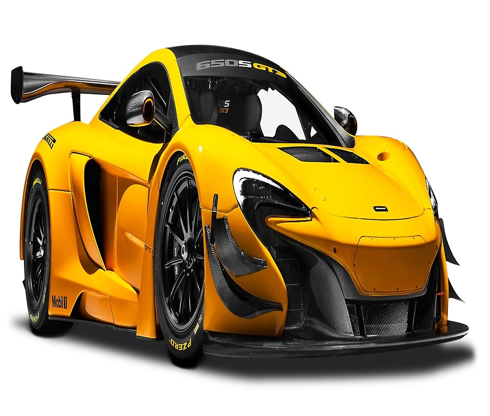 McLaren 650S GT3 Race car by whomadewhat