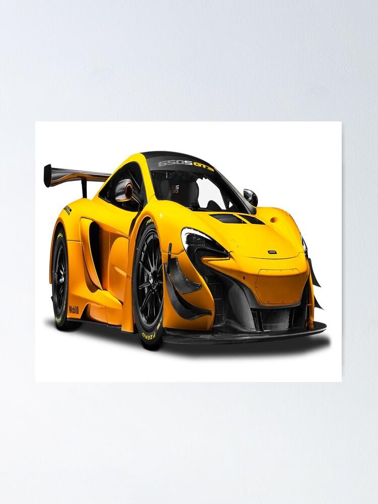 Mclaren 650s Gt3 >> Mclaren 650s Gt3 Race Car Poster