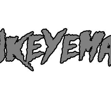 HAWKEYEMANIA (Gray Text w/ Black Outline) by hawkeyemania