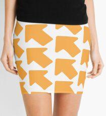 Reddit Upvote Pattern Mini Skirt
