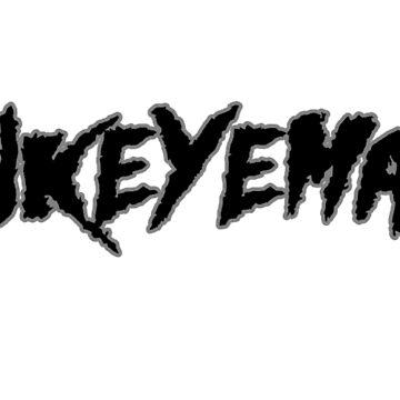HAWKEYEMANIA (Black Text w/ Gray Outline) by hawkeyemania