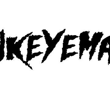 HAWKEYEMANIA (Black Text w/ White Outline) by hawkeyemania