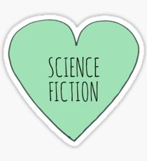 Science Fiction Love Sticker