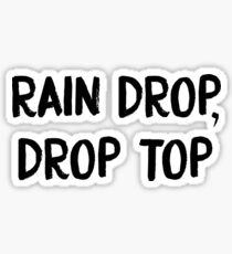 rain drop  Sticker
