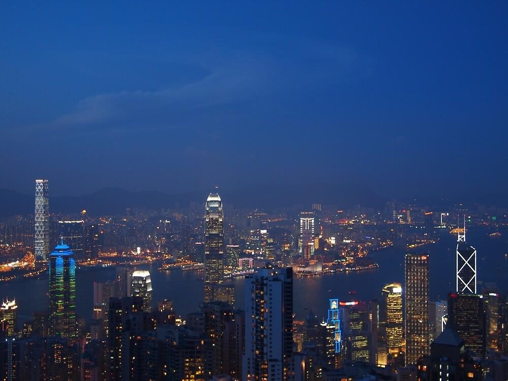 Hong Kong  - Victoria Peak by JennAlexCo