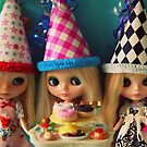 Blythe Party by marzipandaizy