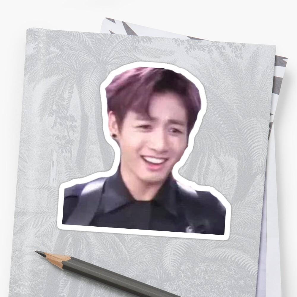 BTS Jungkook KPOP funny meme sticker by CadeyNamjoon