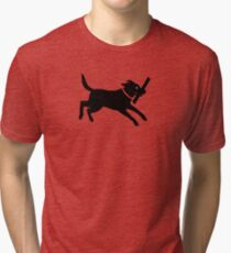 Happy Lab Tri-blend T-Shirt
