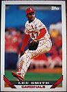 242 - Lee Smith by Foob's Baseball Cards