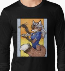 Sushi Fox Long Sleeve T-Shirt