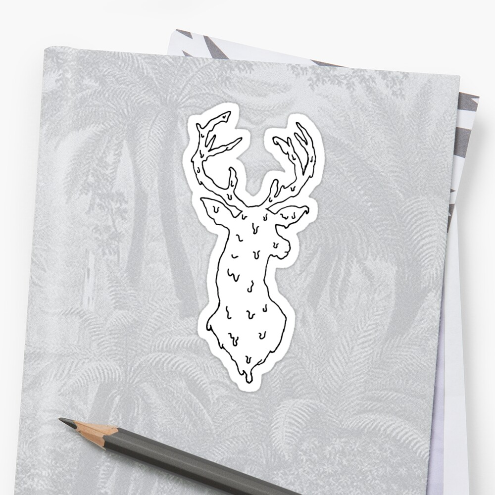 Melting Deer Head  by MeltCo