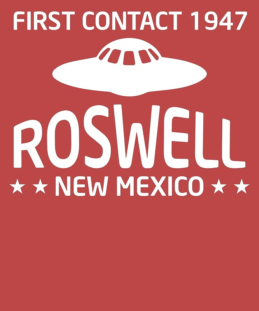 Roswell New Mexico Alien UFO  by AlwaysAwesome