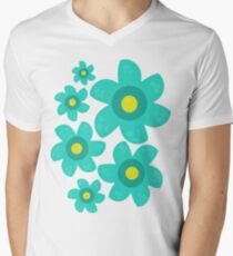 Turquoise Flower T-Shirt