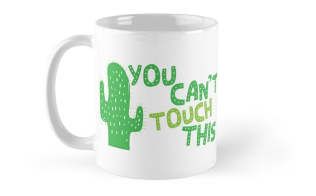 You can't TOUCH THIS! green cactus by jazzydevil