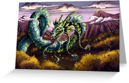 Sky Dragon by cybercat