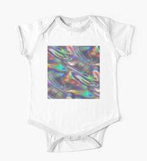 holografisch Baby Body Kurzarm