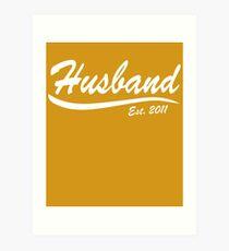 Husband 2011 Art Print