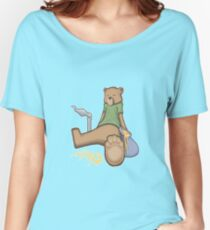 Bear Dab Women's Relaxed Fit T-Shirt