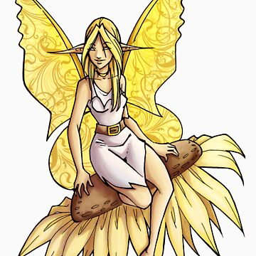 Sunflower Fairy  by cybercat