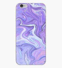 Purpurrote Farbe Holographic iPhone-Hülle & Cover