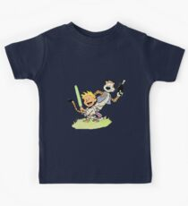 Calvin and Hobbes Star Wars Kids Tee