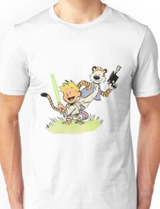 Calvin and Hobbes Star Wars Unisex T-Shirt