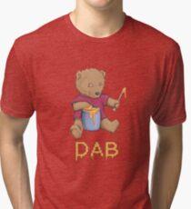 Oil Bear Tri-blend T-Shirt
